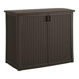 Suncast 23 In L X 42 5 In 97 Gallon Java Deck Box At Lowes Com