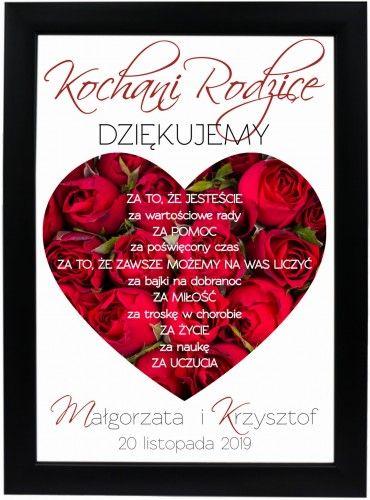 Podziekowanie Prezent Dla Rodzicow Movie Posters Poster Art