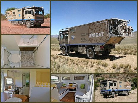 Unicat TerraCross 59 crew cab is the largest Unicat, comes in ...