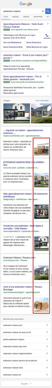 Google mobile teste une nouvelle présentation de ses pages de - construire sa maison en ligne gratuitement