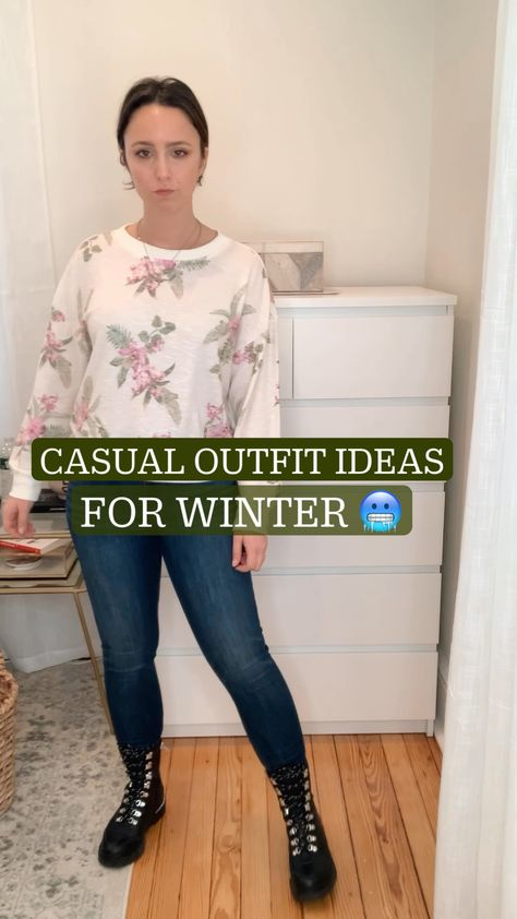 CASUAL OUTFIT IDEAS for Winter