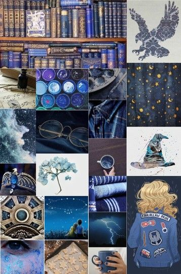 Ravenclaw Aesthetic Collage With Images Ravenclaw Aesthetic