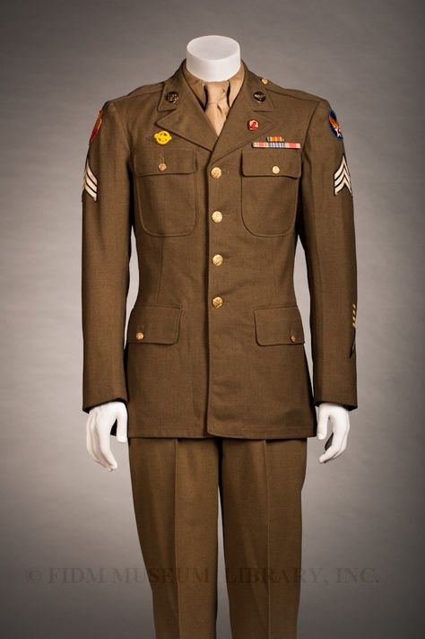 United States Army Air Forces dress uniform, c. 1943 (We have old pics of my Pop in this uniform, I think)