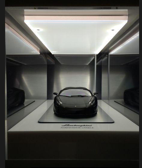 Matt Black Aventador Garage Inspiration Garage Interior Garage