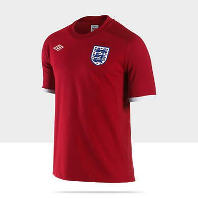 Umbro England 2010 World Cup Men S Away Soccer Jersey Ebay Soccer Jersey England Soccer Jersey Soccer Shirts