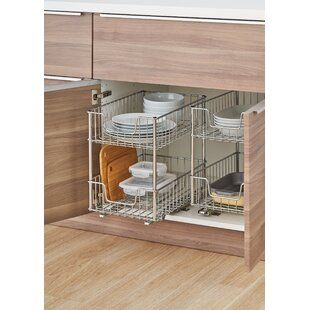Pull Out Appliance Shelf From Bottom Cabinet Kitchen Island Cabinets Kitchen Cabinet Accessories Custom Kitchen Cabinets