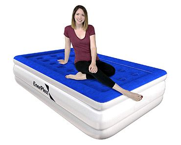 The EnerPlex Raised Air Mattress features the newest