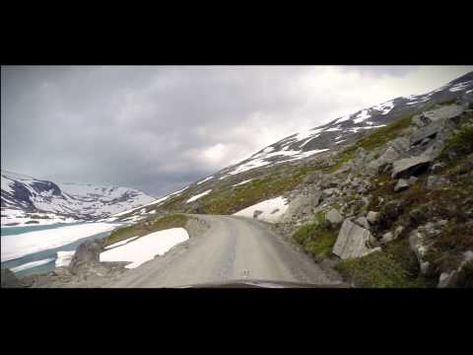 Gamle Strynefjellsvegen Driving 2.7K Norway