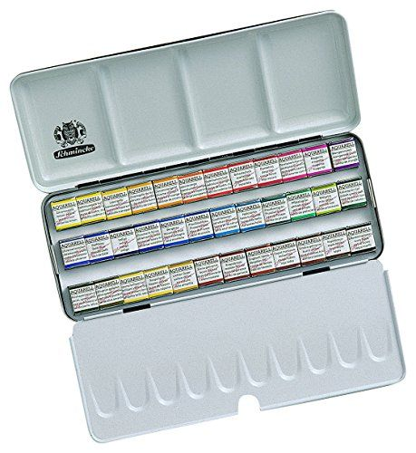Schmincke Horadam Aquarell Watercolor Pan Sets With Images