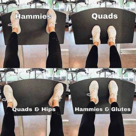 "Leg press: ""Foot placement is key! 🔑 I love the leg press machine because it's so versatile and absolutely demolishes the legs! Yoga Fitness, Sport Fitness, Physical Fitness, Fitness Goals, Planet Fitness Workout, Women Fitness Motivation, Weight Lifting Motivation, Exercise Motivation, Mental Health Articles"