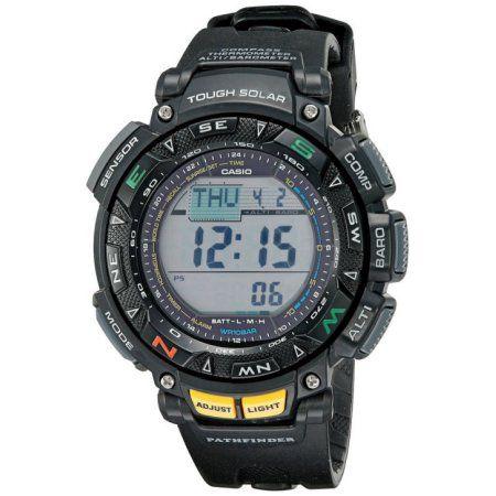 Casio Pathfinder Triple Sensor Tough Solar Resin Pag240 1 Jewelrymakingtutorials Casio Protrek Casio Watch Casio