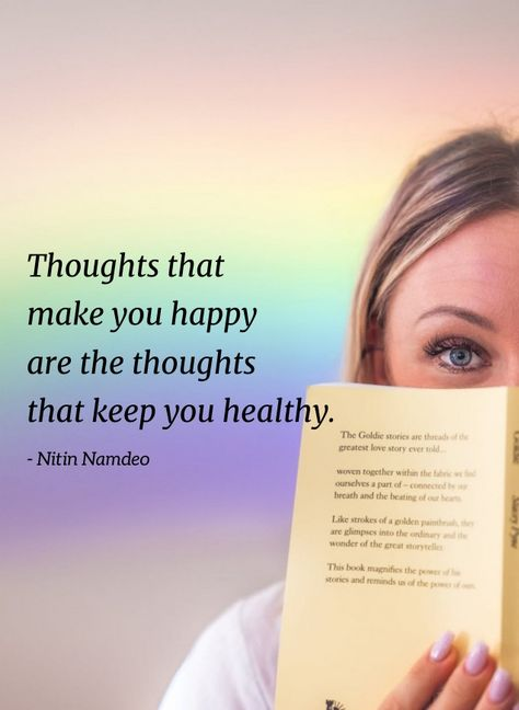 Thoughts that make you happy are the thoughts that keep you healthy. - Nitin Namdeo #Thoughtfulquotes #Happyquotes #Happylifequotes #Positivethinkingquotes #Thinkingquotes #Shortquotes #Healthyquotes #Strongmindquotes #Calmmindquotes #Mindsetquotes #Positivequotes #Meaningfulquotes #Thoughtfulquotes #Quotes #Relatablequotes #Jayshettyquotes #Deepquotes #Emotionalquotes #Goodquotes #Inspiringquote #Inspirationalquotes #Instaquotes #Quoteoftheday #Quotes #Quotesandsayings #therandomvibez