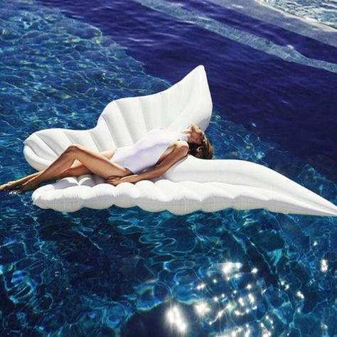 Swimming Pool Giant Water Hammock Inflatable Butterfly Wings🧚♀️🧚♀️
