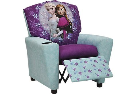 Shop for a Disney Frozen Recliner at Rooms To Go Kids. Find  that will look great in your home and complement the rest of your furniture.