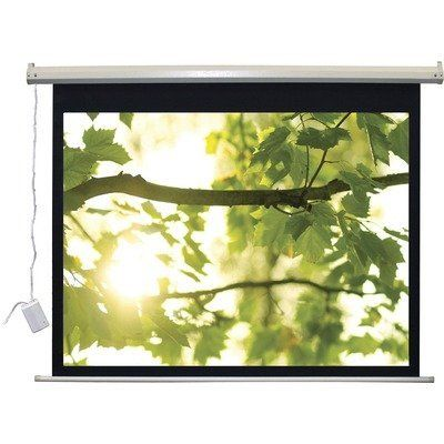 Lectro Ir Qm A Series Motorized Screen Video 4 3 Format 110v 119 X 159 By Vutec 1004 84 Evir1191 Large Framed Prints Projection Screen Future Poster