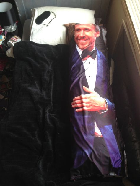 15 Very Unique Ryan Gosling Items You Can Buy On Etsy: Life Sized Body Pillow, $71
