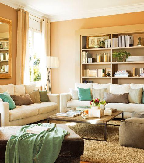 ¡Distribuye mejor el salón y gana más espacio! · ElMueble.com · Salones