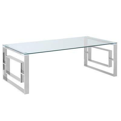 Metal Coffee Table With Glass Top Rectangular Coffee Table Chrome Metal Coffee Table Glass Top Coffee Table Coffee Table