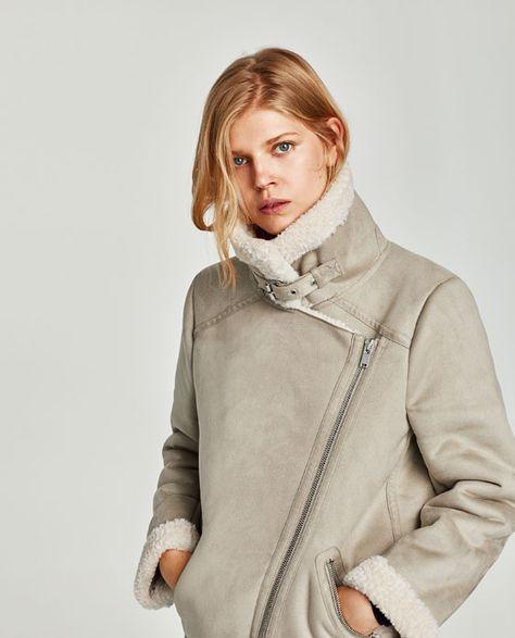 obtenir de nouveaux sélection mondiale de Style classique Image 2 de BLOUSON DE MOTARD TEXTURÉ de Zara | ACHETER F/W ...