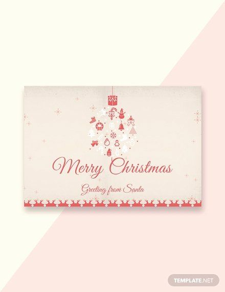 Microsoft Word Christmas Card Template New 44 Free Greeting Card Templates In In 2020 Christmas Greeting Card Template Free Greeting Card Templates Free Greeting Cards