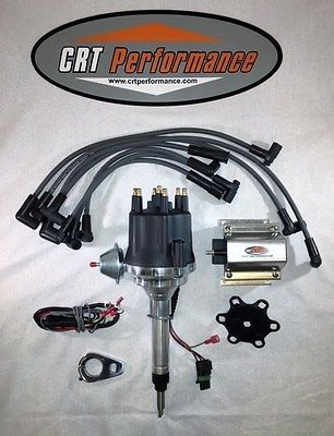 Small Cap Chevy Inline 6 Cylinder 235 Black Hei Distributor 60k Coil Wires Chevy Chevy Chevrolet New Chevy