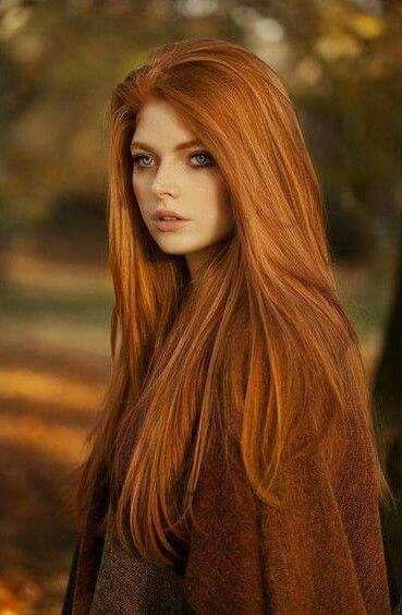Rote haare braune augen