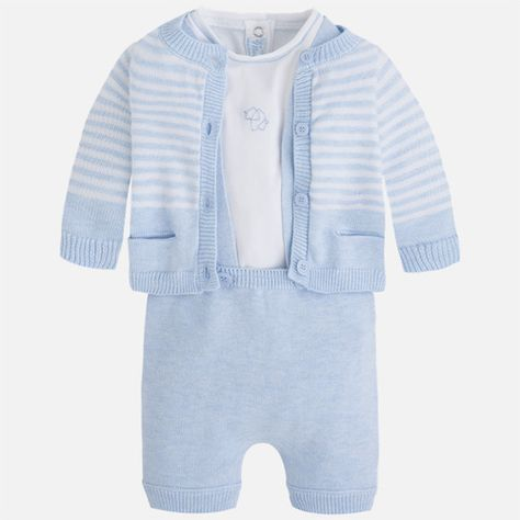 Mayoral 3piece Knitted Set for Baby Boy