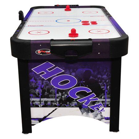 Playcraft Sport Shoot Out Plus Air Hockey Table Red Walmart Com Air Hockey Table Air Hockey Hockey