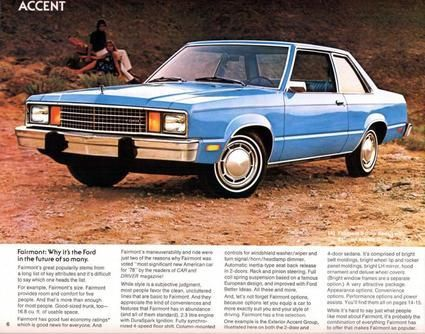 Ford Truck Ford Fairmont Door Sedan Ad For Johnny