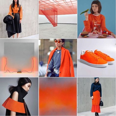 Check out our latest #womenswearweekend today at @wgsn  focusing on our #China #ColourAlert by @hjrc_atlas - #Clementine  #SeoulFashionWeek #VogueChina #StanSmith #Adidas #MargaretZhang #fashion #style #trend #trends #trendforecast #wgsn #MikaTajima #keithsonnier #dohosu #design #colour #orange by laura_wgsn