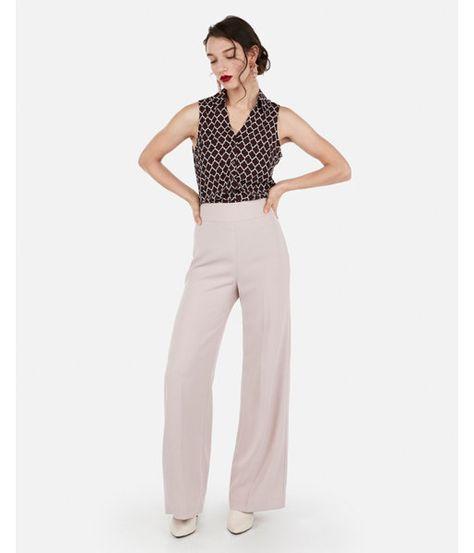 46c804192697f Slim Fit Sleeveless Printed Portofino Shirt Red Women s XXS
