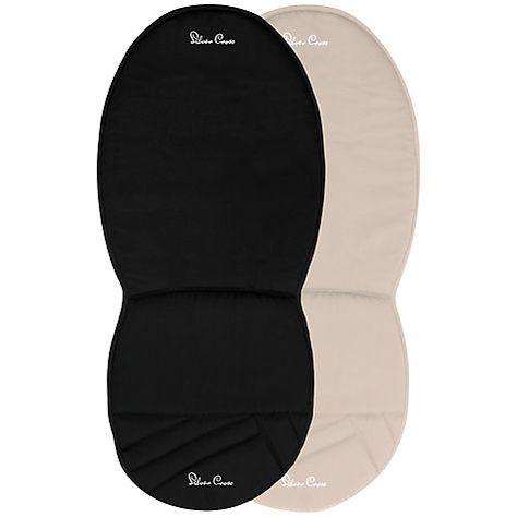 Pioneer Silver Cross Reversible Seat Liner For Surf Wayfarer Black//Sand