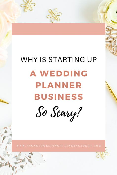 Kim, owner and lead planner of Good as Gold Weddings, shares her best-kept secrets for conquering your fears of becoming a wedding planner and starting your own wedding planner business. | Engaged Wedding Planner Academy | #weddingplanning #weddingbusiness #weddingplanner