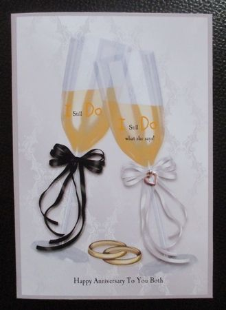 Champagne Flutes and Wedding Rings A4 by Davina Rundle: I printed on to matte photo paper at half size and printed two copies. I added my…