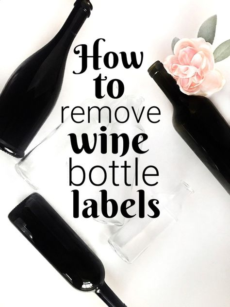Wine Bottle Centerpieces How to easily remove labels for DIY weddings is part of Wine bottle centerpieces, Wine bottle diy crafts, Wine bottle diy wedding, Remove wine bottle labels, Bottle centerpiec - Remove Wine Bottle Labels, Remove Labels, Wine Bottle Art, Painted Wine Bottles, Lighted Wine Bottles, Diy Bottle, Wine Bottle Crafts, Wine Bottle Label Removal, Glass Bottle