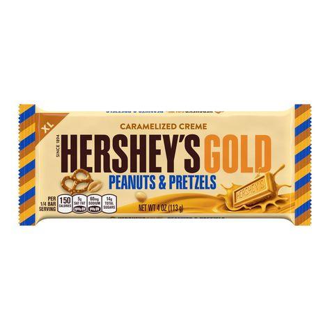 Hersheys Gold Peanuts Pretzels 4oz Candy In 2019
