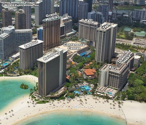 Hilton Hawaiian Village map