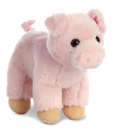 Oinking Pig 8 Plush Toy Zulily Zulilyfinds Toys Plush Grey Dog