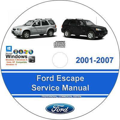 Advertisement Ebay Ford Escape 2001 2002 2003 2004 2005 2006 2007