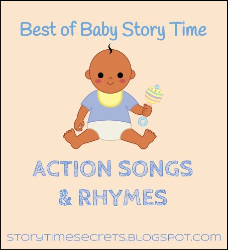 Story Time Secrets: Best of Baby Story Time: Action Songs & Rhymes Some very cute and easy rhymes!