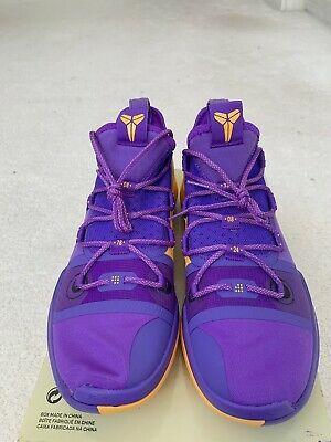Nike Kobe Ad Lakers Pack Rare Hyper Grape Ar5515 500 Men S Sz 12 Kobe Bryant Mens Shoes Casual Sneakers Mens Casual Shoes Kobe Bryant