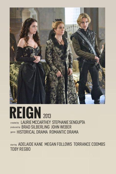 reign minimalist poster