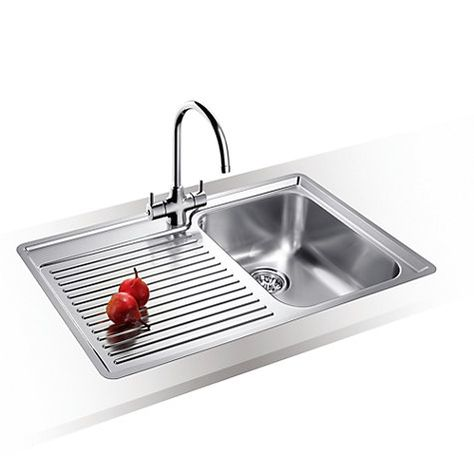 Buy Blanco Classic 45 S 1.5 Kitchen Sink with Arch Tap, Right Hand ...
