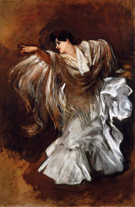 John Singer Sargent 美国现实主义画家(1856年-1925年)--肖像画4 ...