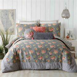 Marteen Mini Comforter Set Gray Comforter Sets Grey Comforter