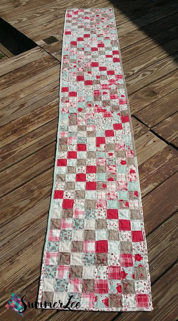 12 Days Of Christmas In July Table Runner Tutorial Table Runner Tutorial Christmas In July 12 Days Of Christmas