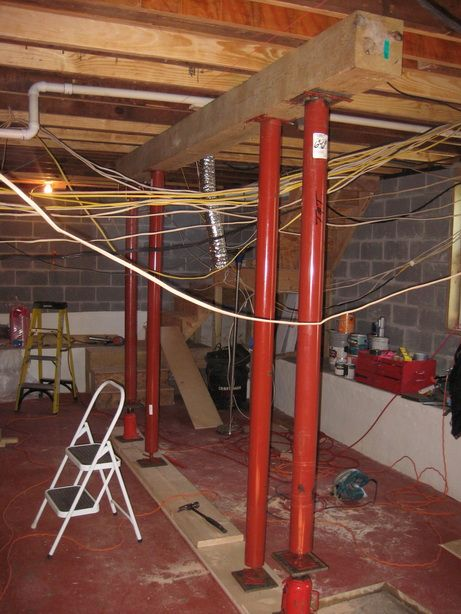 Sagging Floors, Over Spanned Joists, Load Bearing Walls Without Support And More - Page 4 - Remodeling