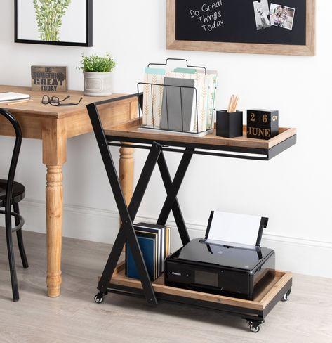 Wooden Tops, Wooden Bar, Wooden Shelves, Rolling Desk, Rolling Bar Cart, Rolling Storage, Storage Cart, Desk Storage, Desk Shelves