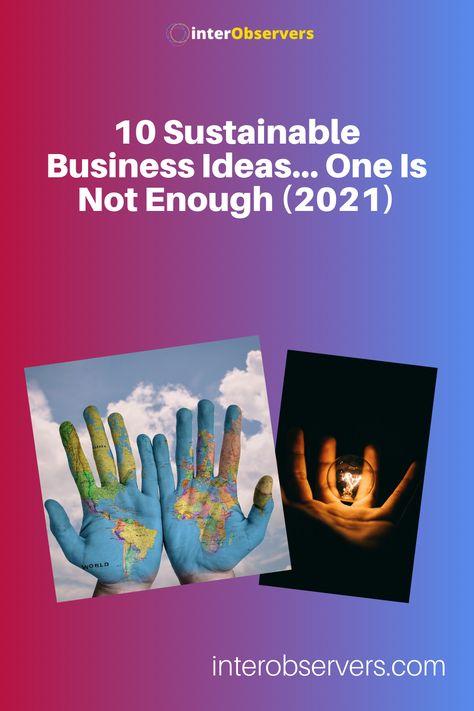 Earth Friendly Business Ideas for Entrepreneurs