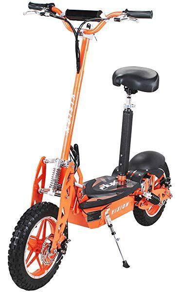E Scooter Roller Original E Flux Vision X2 2000 Watt 60v Mit Strassenzulassung 10 Zoll Reifen Extra Gross Gelandereifen Elektrorolle In 2020 Elektroroller Roller Elektro